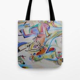 inspiration from Kandinsky . illustration . Tote Bag