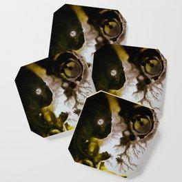 Alien embryo, acrylic on canvas Coaster