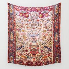 Kashan Dabir Oil Drilling Animal Rug Print Wall Tapestry