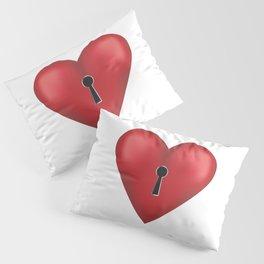 Unlock me Pillow Sham
