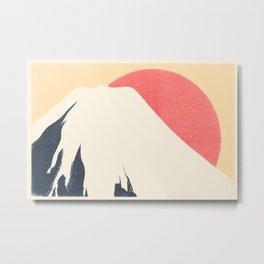 Dreams of Fuji Metal Print