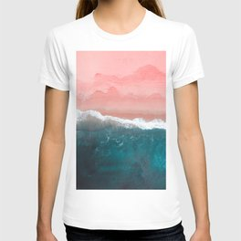 Turquoise Sea Pastel Beach II T-shirt