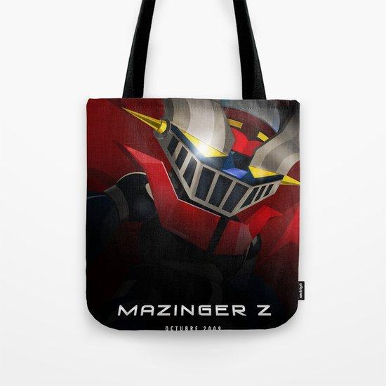 mazinger fan art Tote Bag