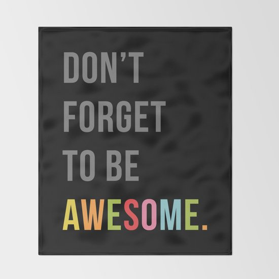 Be Awesome 2 Funny Quote by envyart
