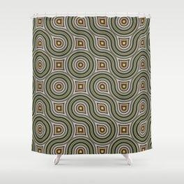 Round Truchets in CMR 01 Shower Curtain
