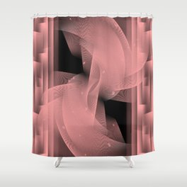 Illusion of stability Shower Curtain
