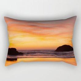 Nature's Painting Rectangular Pillow
