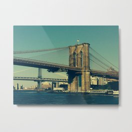 Brooklyn connections Metal Print