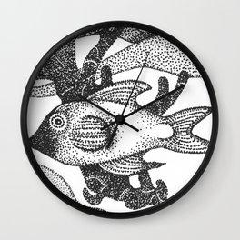 fish2 Wall Clock