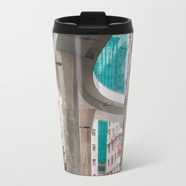 Hong Kong Street Bridge Travel Mug