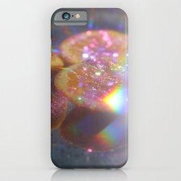 Orange in glitter iPhone Case