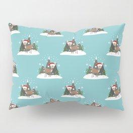 Christmas Deers Pillow Sham