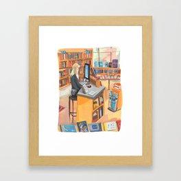 Idlewild Bookstore NYC Framed Art Print