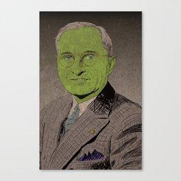 Harry S. Truman, the Goblin King Canvas Print