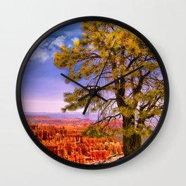 Ponderosa Pine. Bryce Canyon National Park, Utah Wall Clock