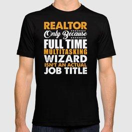 Realtor Wizard T-shirt