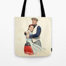 The Quiet Man - Watercolor Tote Bag