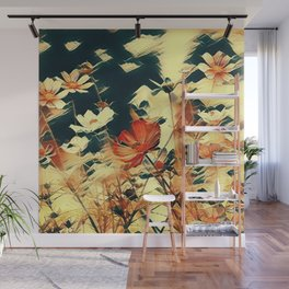 Cosmos in Abstract Wall Mural