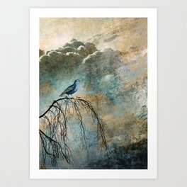 HEAVENLY BIRD II Art Print
