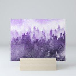 Ultra Violet Adventure Forest Mini Art Print