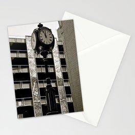 OKC Clock Stationery Cards