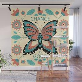 Change is Good Wall Mural