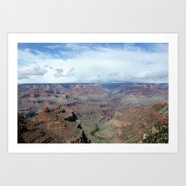 Majestic Grand Canyon Photo - Space to Breathe Art Print