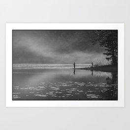 Any two boys - Fishing Art Print