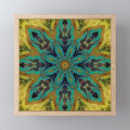 Feather Mandala Framed Mini Art Print