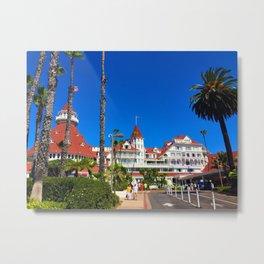 Hotel Del Coronado California Metal Print