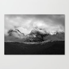 French Alps, Chamonix, France. Canvas Print