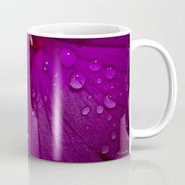 Royal Princess flower macro with water droplets - Floral Photography #Society6 Coffee Mug