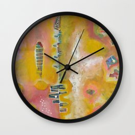 Sunny Disposition Wall Clock