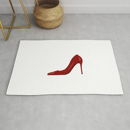 High heels,stiletto shoes drawing.Stay classy  Rug