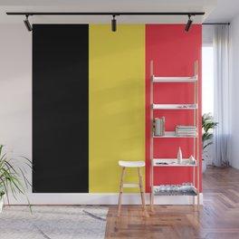 Flag of Belgium Wall Mural