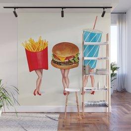 Combo Meal Pin-Ups Wall Mural