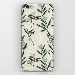 OLIVE BLOOM iPhone Skin