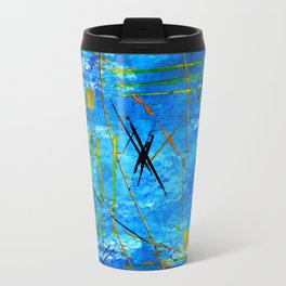 I got the blues Metal Travel Mug