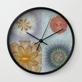 Ryas Exposed Flower  ID:16165-014626-86050 Wall Clock