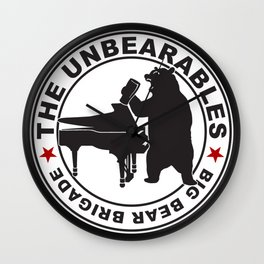 The UnBearables Wall Clock