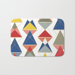 Triangular Affair Bath Mat