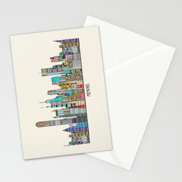 Memphis city Stationery Cards