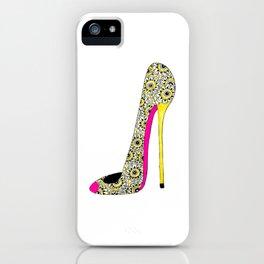 Fashion shoe art iPhone Case