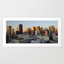 San Francisco City Art Print