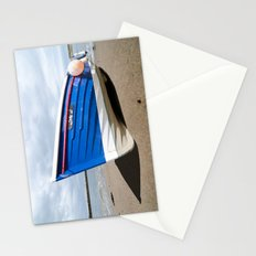 Sailing coble Lady J Stationery Cards