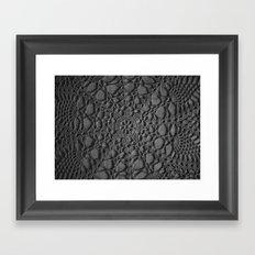 Crochet Framed Art Print