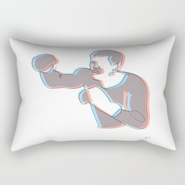 Boxing Ali (coulour) Rectangular Pillow