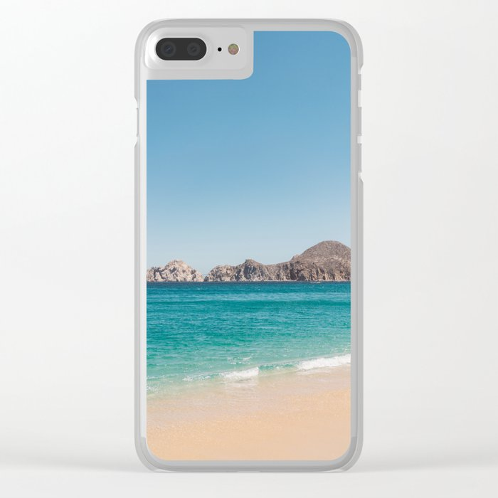 Cabo San Lucas V Clear iPhone Case