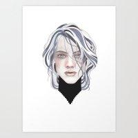 GREYING Art Print