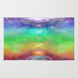 Chakra Activation Geometry Template Rug